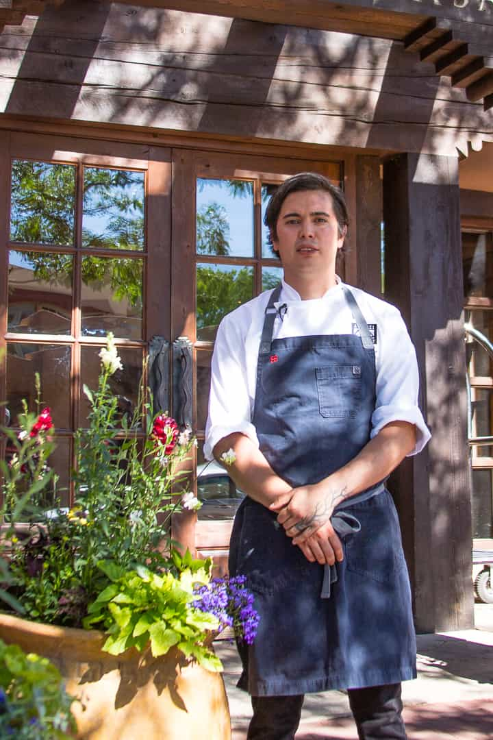 Chef Edgar Beas